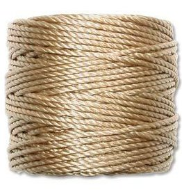 35 YD Tex 400 Heavy Macrame Cord : Light Brown