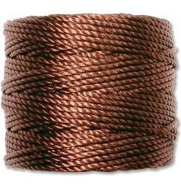 35 YD Tex 400 Heavy Macrame Cord : Brown