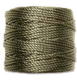 35 YD Tex 400 Heavy Macrame Cord : Olive
