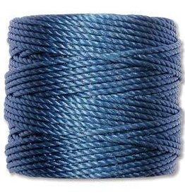 35 YD Tex 400 Heavy Macrame Cord : Montana Blue