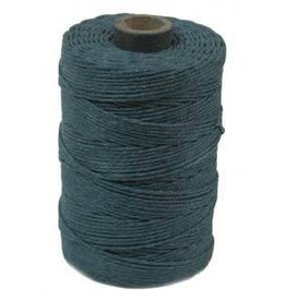 5 YD 4 PLY Irish Waxed Linen : Teal