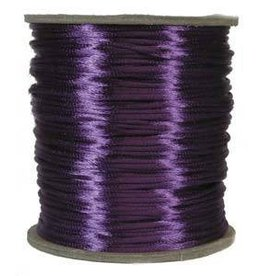 6 YD 2mm Size #1 Rattail : Purple