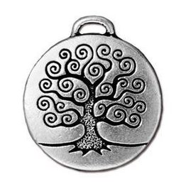 1 PC ASP 24mm Tree of Life Pendant