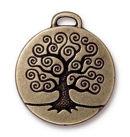 1 PC ABP 24mm Tree of Life Pendant