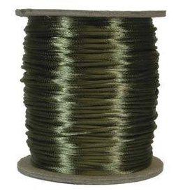6 YD 2mm Size #1 Rattail : Dark Olive