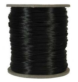 6 YD 3mm Size #2 Rattail : Black
