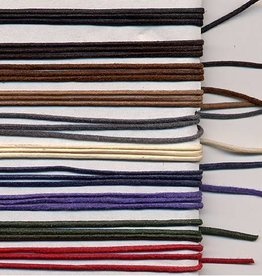 5 YD 2mm Waxed Cotton Cord : Purple