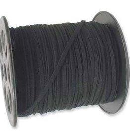 2 YD 3mm Ultra Micro Fiber Suede : Black