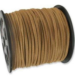 2 YD 3mm Ultra Micro Fiber Suede : Light Brown