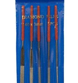 5 PC Diamond Needle File Set