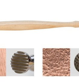 Texturing Hammer : Round, Dimples  & Narrow Pinstripe