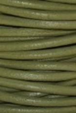 11 YD 1.5mm Leather Cord : Absinth