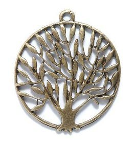 1 PC ABP 37mm Tree of Life Pendant