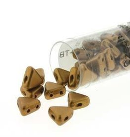 9 GM 6mm Kheops Par Puca : Bronze Gold Matte (APX 65 PCS)