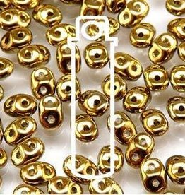 8 GM 2x4mm MiniDuo : Crystal Full Amber (APX 170 PCS)