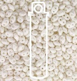 8 GM 2x4mm MiniDuo : Chalk White Luster (APX 170 PCS)