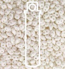 8 GM 2x4mm MiniDuo : Chalk White Luster (APX 170 PCS)