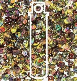8 GM 2x4mm MiniDuo : Crystal Magic Yellow Brown (APX 170 PCS)