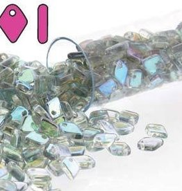 9.5 GM 1.5x5mm Dragon Scale : Crystal Blue Rainbow (APX 260 PCS)