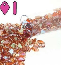 9.5 GM 1.5x5mm Dragon Scale : Crystal Orange Rainbow (APX 260 PCS)