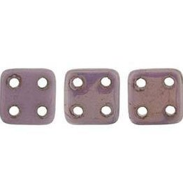 10 GM 6x6mm Quadratile : Luster Opaque Lilac (APX 80 PCS)