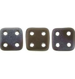 10 GM 6x6mm Quadratile : Jet Matte Bronze Vega (APX 80 PCS)