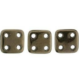 10 GM 6x6mm Quadratile : Dark Bronze (APX 80 PCS)