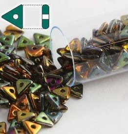 9 GM 4.6x1.3mm Tri Bead : Magic Copper (APX 215 PCS)