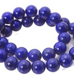 """Lapis Lazuli : 8mm Round 15.5"""" Strand"""