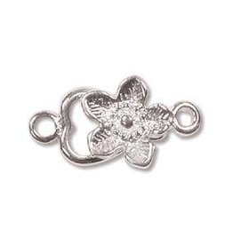 6 Set SP 12mm Flower Hook Clasp