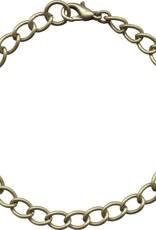 """1 PC ABP 7.5-8.5"""" Curb Chain Bracelet"""