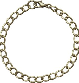 "1 PC ABP 7.5-8.5"" Curb Chain Bracelet"