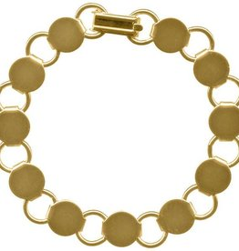 "1 PC GP 7.25"" Disc & Loop Bracelet"