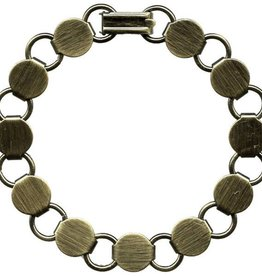 "1 PC ABP 7.25"" Disc & Loop Bracelet"