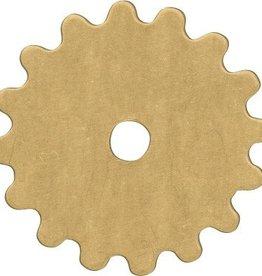 1 PC Brass 16mm Gear