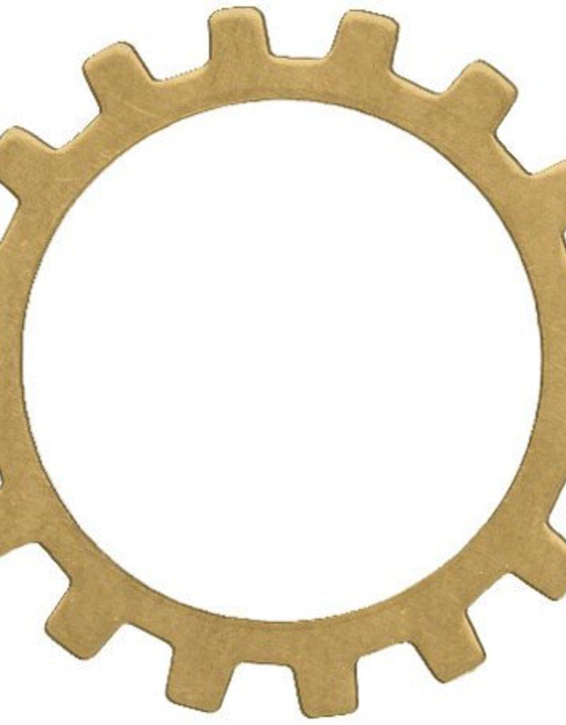 1 PC Brass 19mm Open Gear