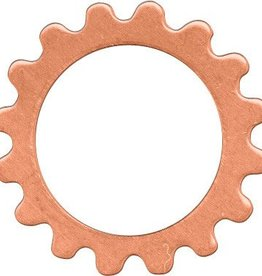 1 PC Copper 16mm Open Gear