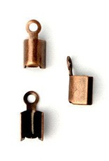 10 PC ACP 8x3mm Fold Over Cord End