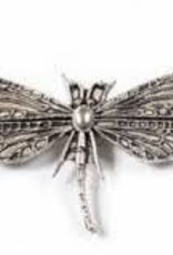 1 PC ASP 49x30mm 2 Hole Dragonfly Charm