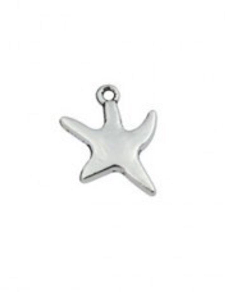 1 PC ASP 18x13mm Starfish Charm
