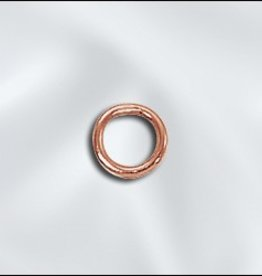 25 PC Solid Copper 20GA 5mm Closed Jumpring