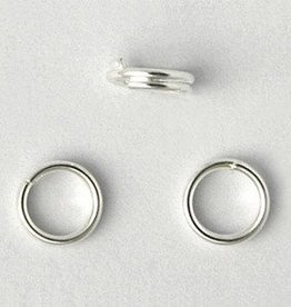 50 PC SP 5mm Split Ring