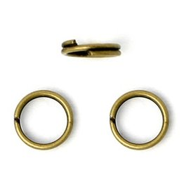25 PC ABP 8mm Split Ring