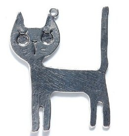 1 PC ASP 35x44mm Cat Charm