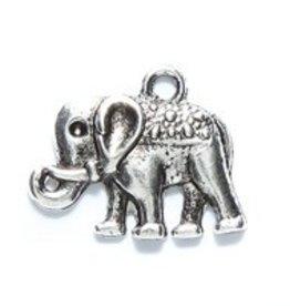 1 PC ASP 18x12mm Elephant Charm