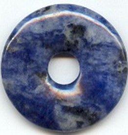 1 PC 40mm Sodalite Donut