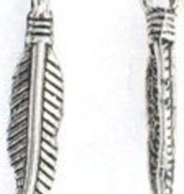 4 PC ASP Mini Feather Charm