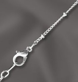 """1 PC SP 18"""" Satellite Chain w/ Lobster Claw"""