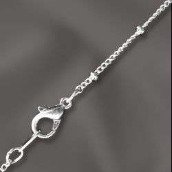 """1 PC SP 24"""" Satellite Chain w/ Lobster Claw"""