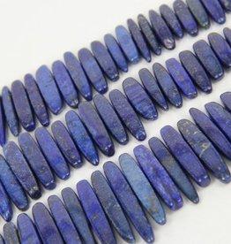 "Lapis Lazuli : 25-40mm Graduated Slice 15.5"" Strand"